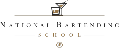 National Bartending School Minifited In Black